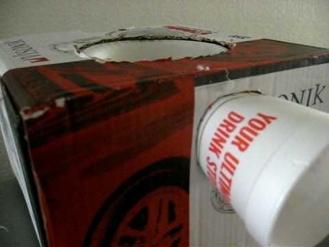 Styrofoam Bowl Speaker
