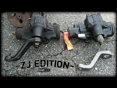 STEERING GEAR REPLACEMENT (1993-'98 JEEP GRAND CHEROKEE)
