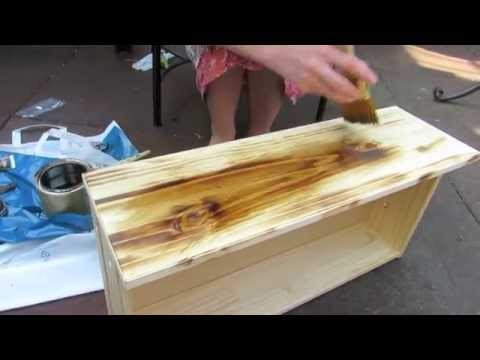 How to Antique Wood