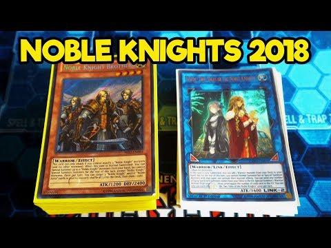 Noble Knights! 2018 Yu-Gi-Oh Deck Profile!