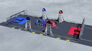 Download 2019 FIRST Robotics Competition Destination: Deep Space Game Animation Video