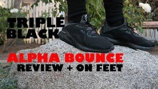 973bdaa5f The adidas alphaBOUNCE XENO Triple Black Is Black Friday s Sleeper ...