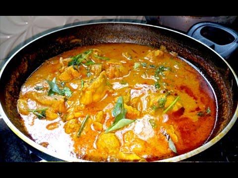 கோழி குழம்பு / Chicken Kulambu in Tamil / சிக்கன் குழம்பு / praveena