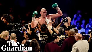 Tyson Fury after title win: Deontay Wilder never had a chance