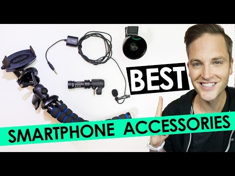 Best Smartphone Accessories — Best Camera Lens, Microphone and Tripod for Mobile Phones