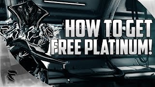 Warframe: How To Get Free Platinum 2017