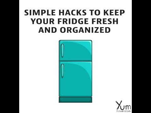 Simple Hacks to Keep Your Fridge Fresh and Organized