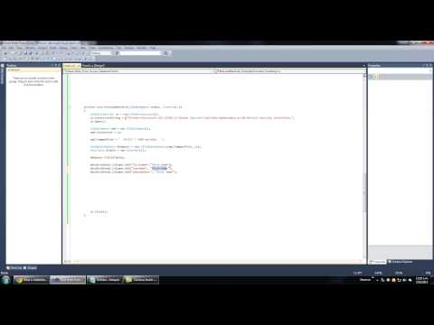 Visual C# with Microsoft Access Database Tutorial   Part 8 Grid View