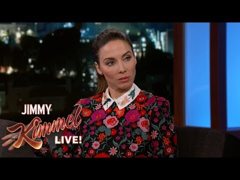 Whitney Cummings Gives Jimmy Kimmel 'Red Flag' Dating Test