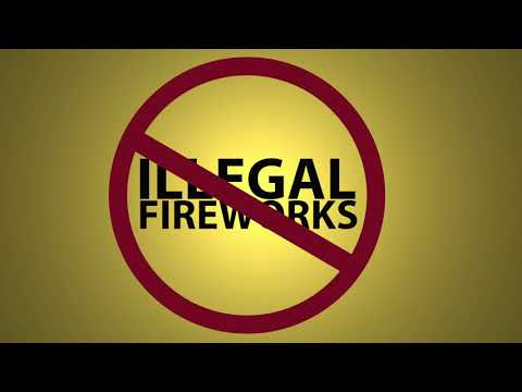 PSA: Police, Fire Cracking Down on Illegal Fireworks