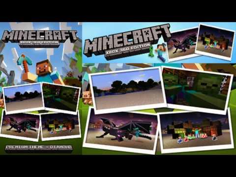 Minecraft Xbox 360 Edition - The New Diamond Theme * AVAILABLE NOW*