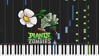 Plants VS  Zombies - Main Theme [Piano Tutorial] (♫)