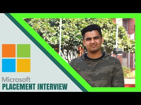 Job Interview | Microsoft Interview Experience | Question and Answer