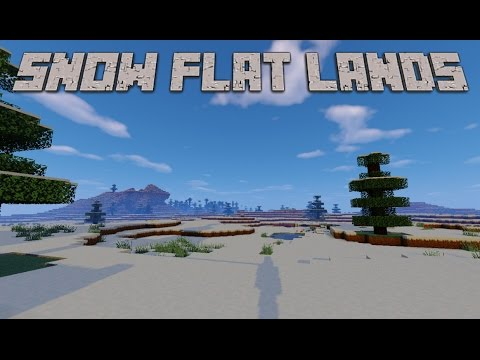 Cool Large Snow Flat Lands Minecraft Seed 1.8.9, 1.9 [2016]