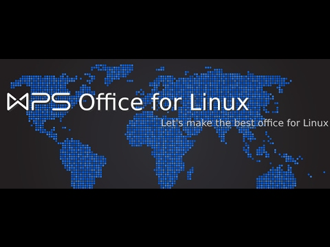 WPS Office for Linux Alpha21 (Kingsoft) - how to download and install