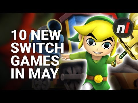 10 Great New Games Coming to Nintendo Switch in May
