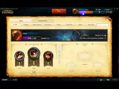 League of Legends - Profile