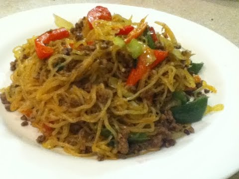 Stir Fry Noodles With Mince Beef Recipe