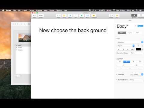 Apple:: MacBook Pro -  How to change Desktop Background