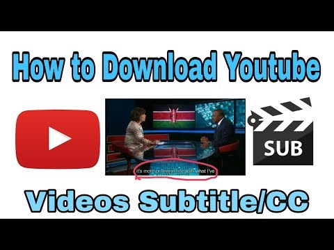How To Download Youtube Videos Subtitles Without Software