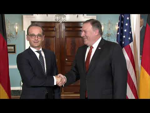 Secretary Pompeo Meets With German Foreign Minister Maas