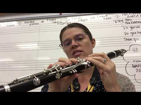 Mini-Lesson: Playing Over the Break on the Clarinet
