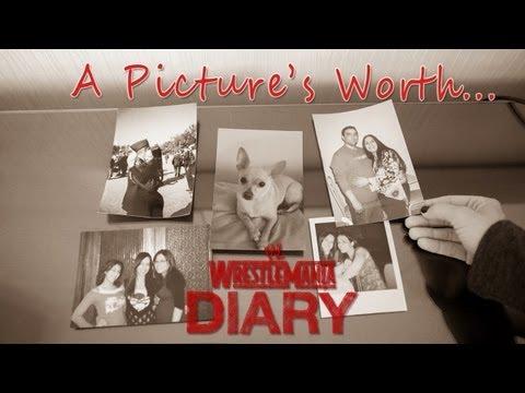 WrestleMania 29 Diary - AJ Lee shows her family photos : WWE.com Exclusive, April 4, 2013
