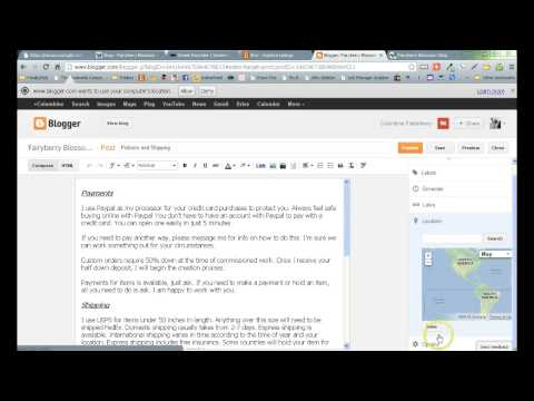 How to Use Blogger Posts, Pages and Tabs