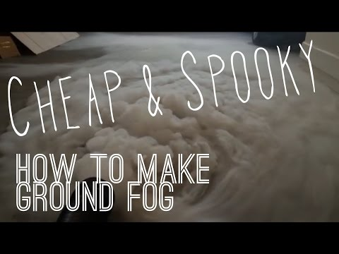 How to Make the Easiest & Cheapest Fog Chiller Ever
