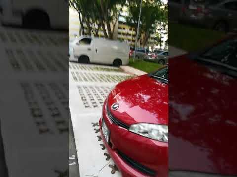 HDB Open Car Park Upgrading 20180607 07:24