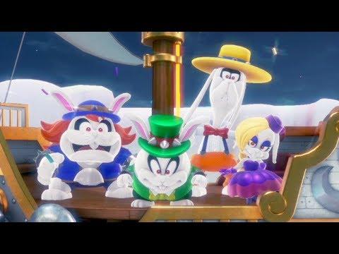 Super Mario Odyssey - Walkthorugh Part 4 - Lake Kingdom All Moons & Coins