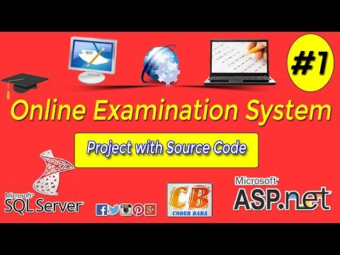 Online Examination System project in ASP.NET with C# Part 1