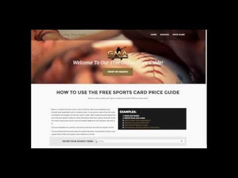 Free Sports Card Price Guide