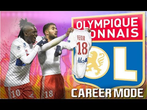 FIFA 18 - Olympique Lyon Career mode Episode 1 - DEPAY IS A MONSTER!