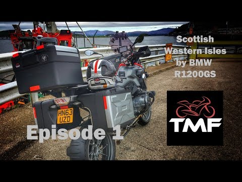 Touring the Scottish Western Isles by BMW R1200GS  | Episode 1 | Great Missenden to the Isle of Mull