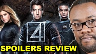 Download FANTASTIC FOUR 2015 Movie Spoilers Review : Black Nerd Video