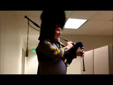 Holiday Music from Henrico Police Sergeant Livingstone.wmv