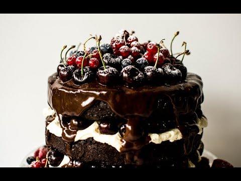 German Black Forest Cake   The Vegan Gypsy
