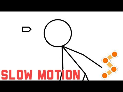 Stick Fighter: How To Make A Slow Motion Animation.