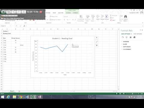 How to Format Axes on Excel Chart (Excel Video 3)