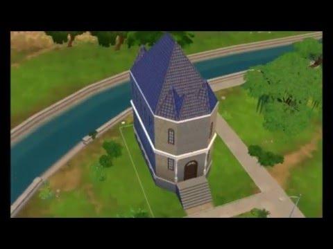 Sims 4 building tutorial: Church/Chapel