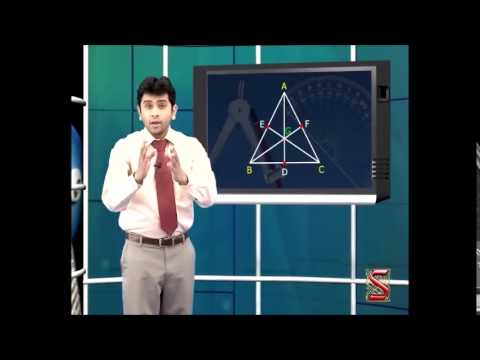 Math: Geometry: Altitude and median of Triangle