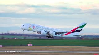 Emirates A380 Take-off | Emirates Airline