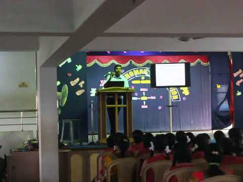 Speech about memory and presence of mind in Tamil by Arun Prasad IRS on 19th Nov 2016
