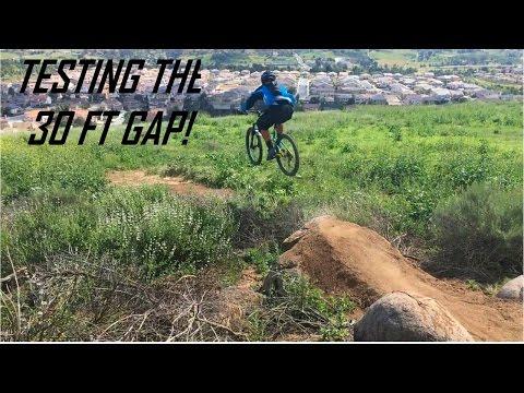 TRAIL BUILDING | TESTING 30FT BACKYARD GAP!!
