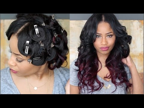 How To: PIN CURL THAT HAIR !