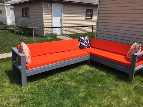 DIY Outdoor Sectional|Budget friendly| $300|