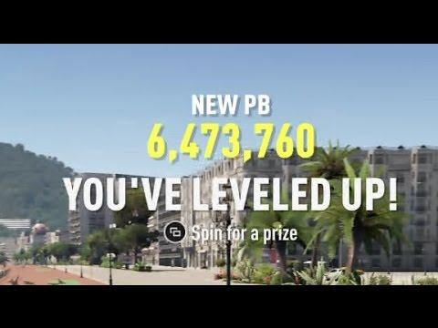 Forza Horizon 2 - Fastest way to earn skill points (wallgrind method)