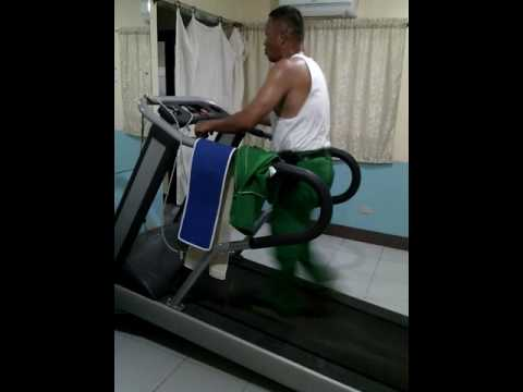 Need Sweating use Treadmill try in 18 minutes