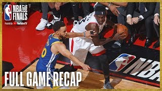 Download WARRIORS vs RAPTORS | Toronto Grabs Franchise First Finals Win! | NBA Finals Game 1 Video